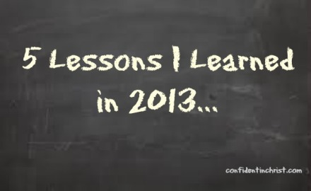 5 Lessons chalkboard