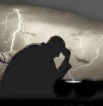 Praying in a storm